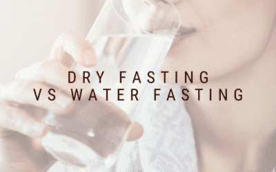 Dry Fasting vs Water Fasting