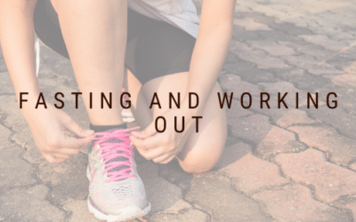 Fasting and Working Out