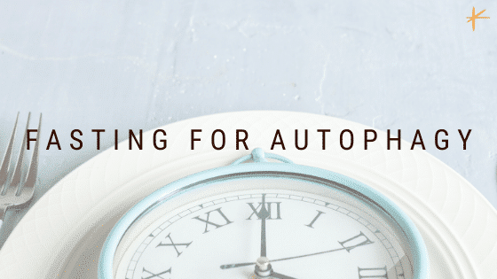 Fasting for Autophagy